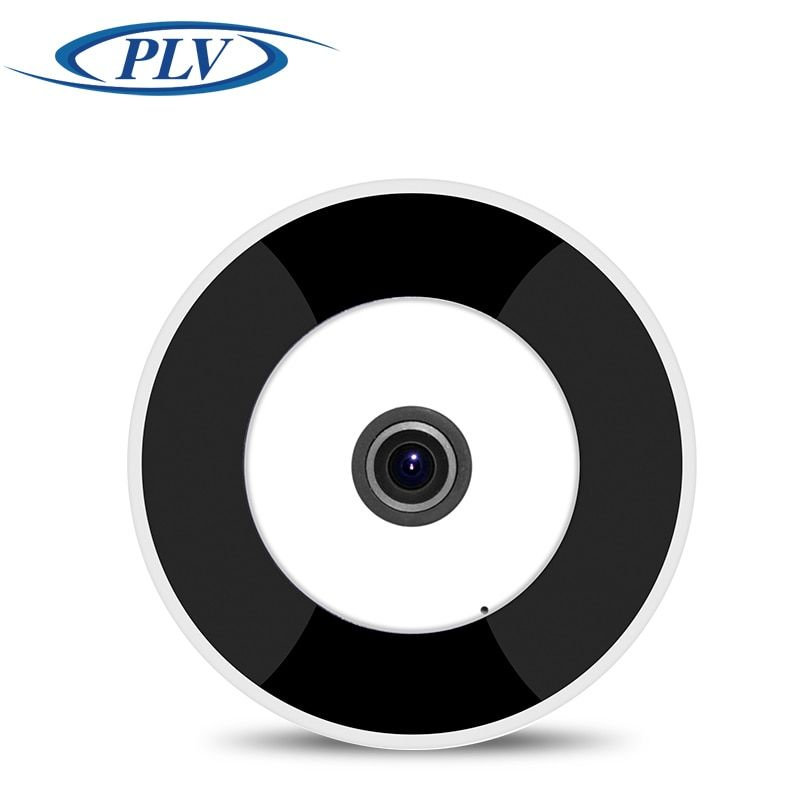 New PLV WIFI IP Camera 360 Fisheye Panoramic Dome Camera 1.3MP 960P CCTV Night Vision Video Surveillance Security