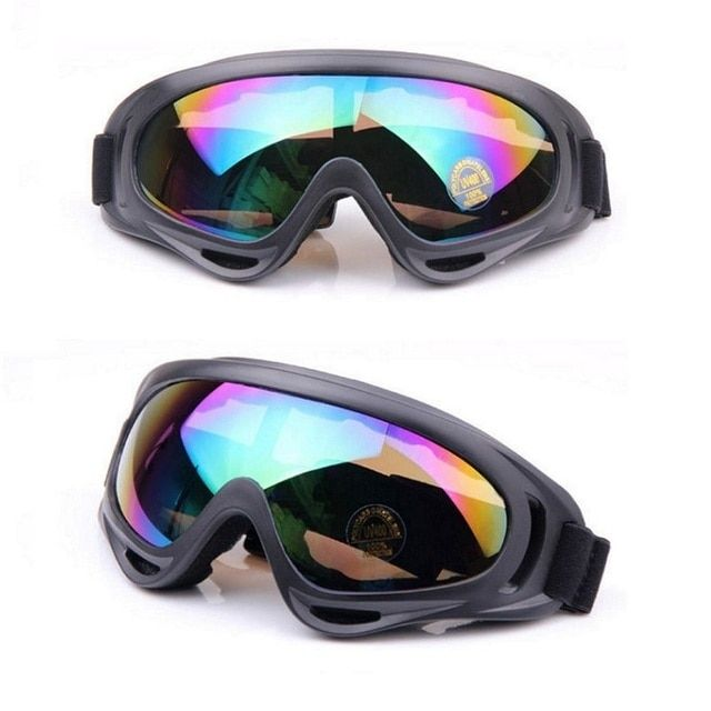 Men Women Skiing Goggles for Winter Snowboarding Snowmobile Sled Sunglasses Cycling Googles Motorcycle Windproof AIRSOFT Goggles