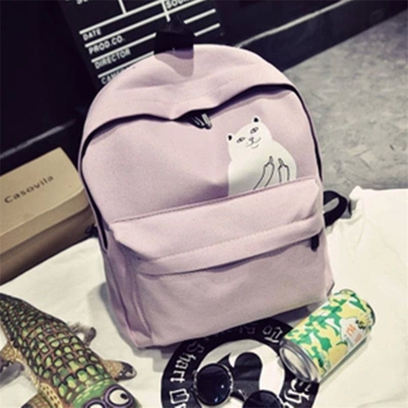 Women backpack for women casual canvas school backpack girl backpacks small girls school bag for girls Mori fashion women bags