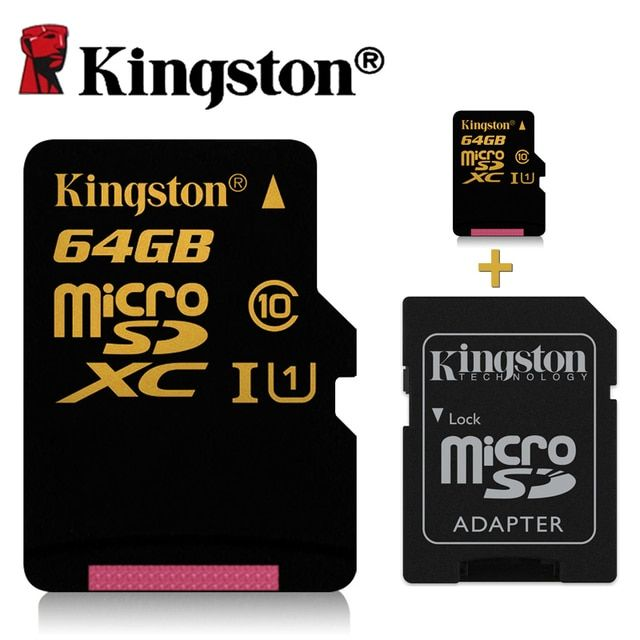 Kingston micro sd card 64gb class 10 micro sd 32gb 16gb High speeds to capture photos or record HD videos without interruption