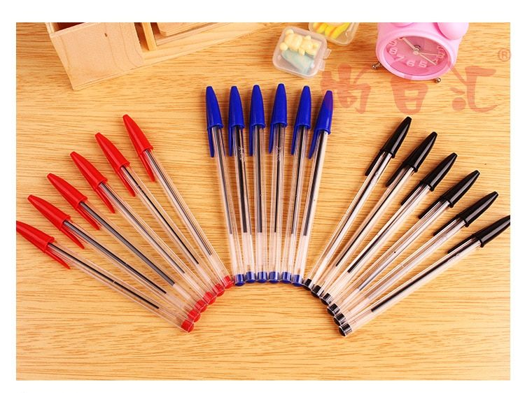 ballpoint pen blue   on sale free shipping office and school pen student  simple style cheapest  simple style lowest price