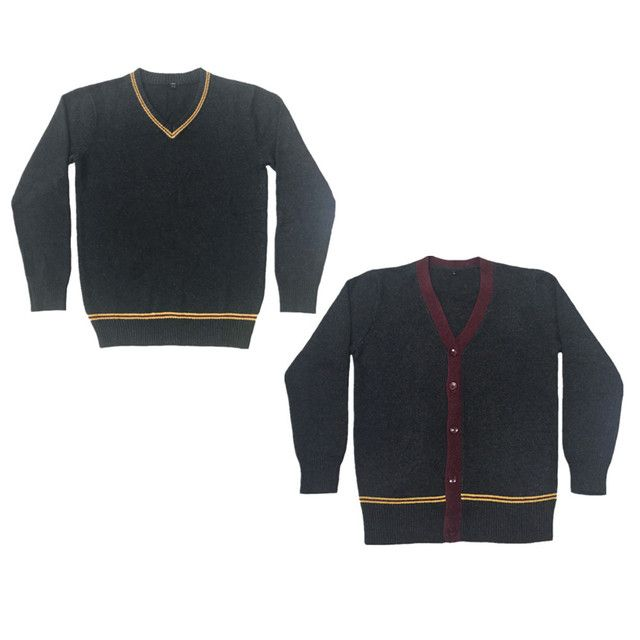Fall Winter Knit Sweater 4 Style Long Sleeve Sweater Cardigan for Magic Cosplay