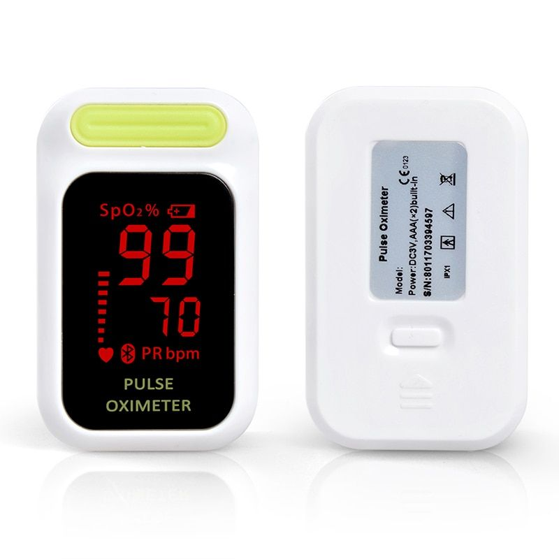 ELERA New Digital Finger Pulse Oximeter Blood Oxygen Saturation SpO2 Monitor SPO2 PR Oximetro de dedo Health Care Free Ship