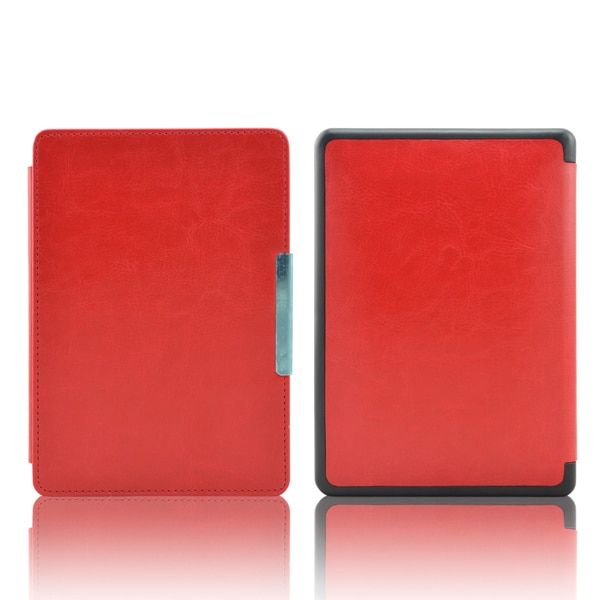 "leather cover case funda for Kobo touch N905 A B C ereader 6"" shell skin + screen protector+Stylus Pen"
