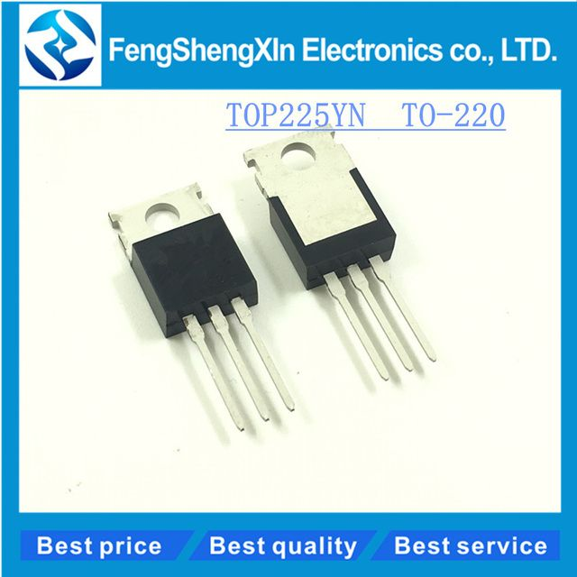 10pcs/lot   New   TOP225YN  TO-220   power management chip