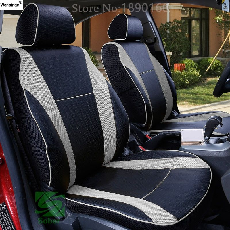 ( wenbinge ) Special Leather car seat covers For Toyota Corolla Camry Rav4 Auris Prius Yalis Avensis SUV auto accessories