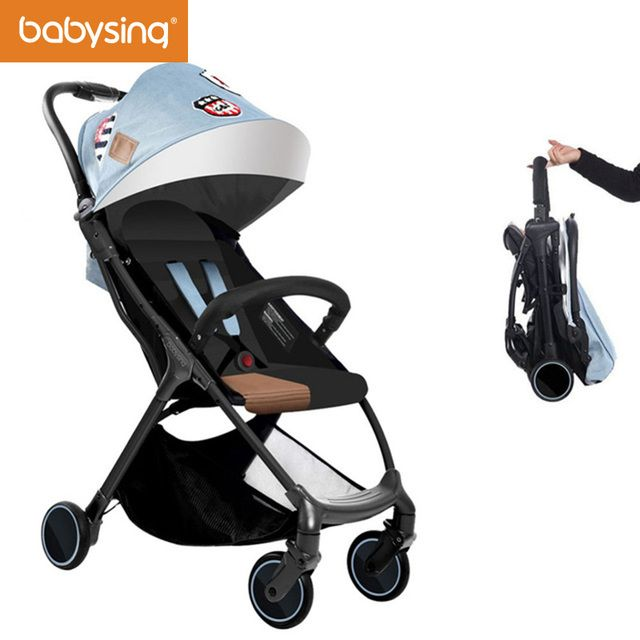 Babysing S-GO Baby Stroller Portable Light Travel Carry Umbrella Pram Carriage For Walking Newborns Folding Babies Strollers