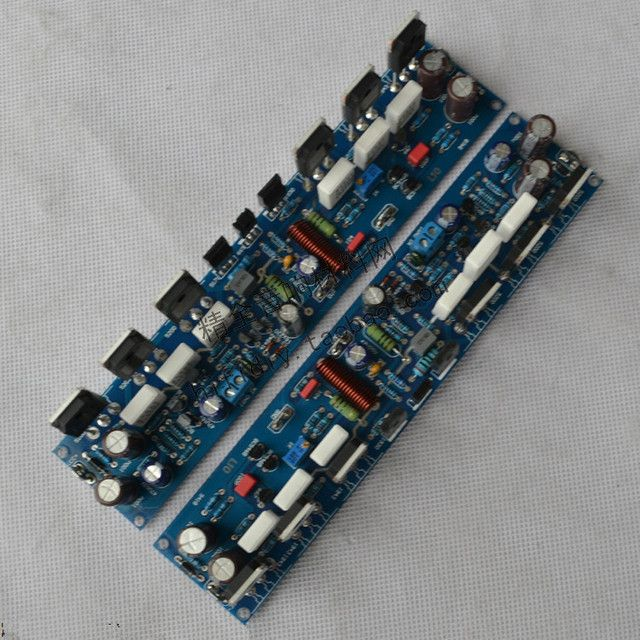 L10-1 300W * 2 2.0 channel DIY fever class AB amplifier board C5171 / A1930 + NJW0302 / NJW0281 amplifier board