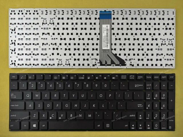 New US English Keyboard For ASUS X553M X553MA K553M K553MA F553M F553MA Laptop Black Without Frame, Win8