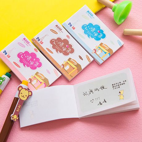 Super Sale Korean Cute Mini Notebook Diary Book Wholesale Notebook Memorandum Memo Pad