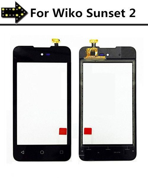 High Quality 4.0''Touchscreen Digitizer For Wiko Sunset 2 Touch Screen Digiti with flex cable Replacement parts!!!
