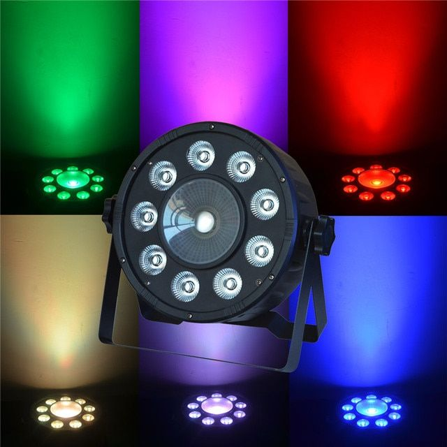 Digit PAR Led Disco Light RGB 3IN1 LED Light Stage DJ Light DMX Led Par Led 80W Par 54 Party Lights in  bar