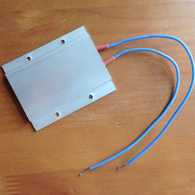 AC DC 48V constant temperature PTC aluminum heating element ceramic heater max 150W