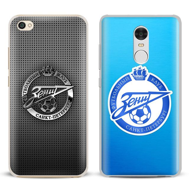 FC Zenit Saint Petersburg logo Coque Phone Case Shell For Xiaomi Redmi Note 2 3 4 4X 5A Pro Mi 4 5 5S Plus 5X 6 MiA1 Minote 2 3