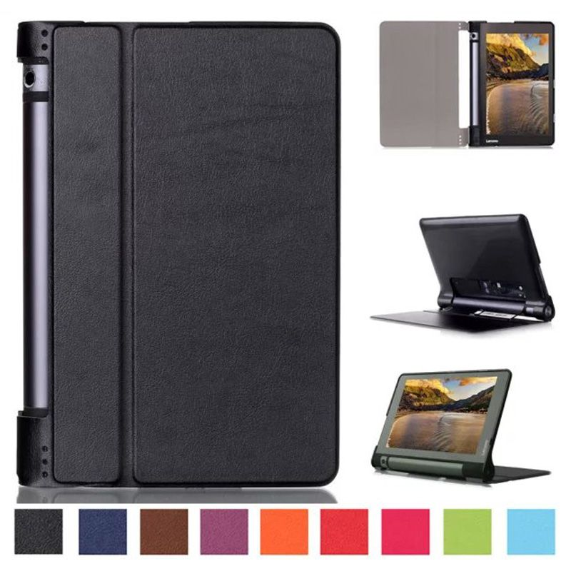"Ultra Slim Smart Case for Lenovo yoga tab 3 8""Cover,PU Leather Protective Cover for Lenovo yoga tablet 3 850F 8""inch Case+Stylus"