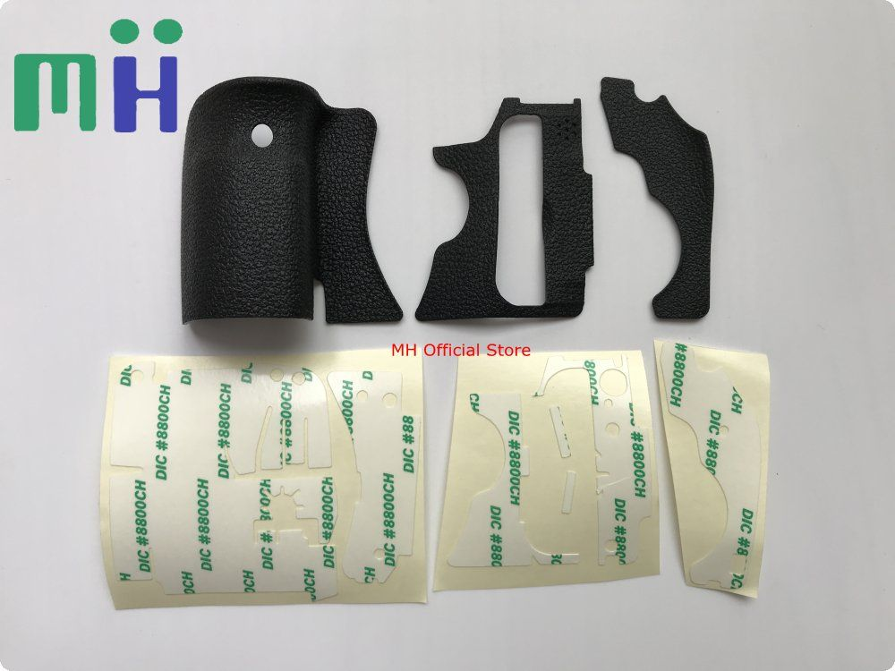NEW 60D A Set of 3 pcs Body Rubber ( Grip Rubber, Thumb Rubber) For Canon 60D Camera Repair Part Unit