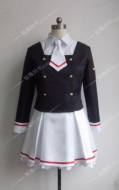 2016 Cardcaptor Sakura Card Captor Sakura School Uniform Anime Cosplay Costume