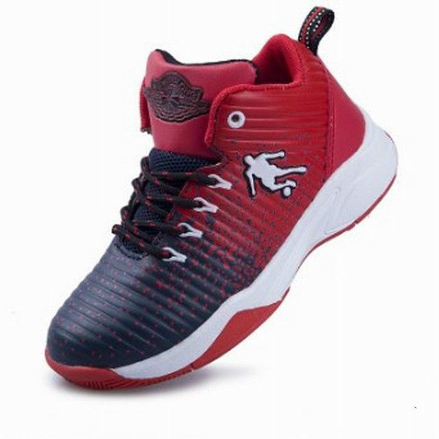 Children's Basketball Shoes 2018 New Arrival Top Quality Factory Direct Kids Sneakers Boy And Girls Sport Shoes Size 25~36