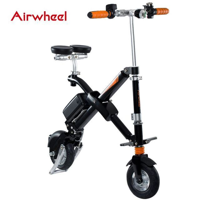 Brand Airwheel E6 Light Weight Foldable Electric Bicycle with Seat Portable Mobility folding e bike sport cycling e-bike