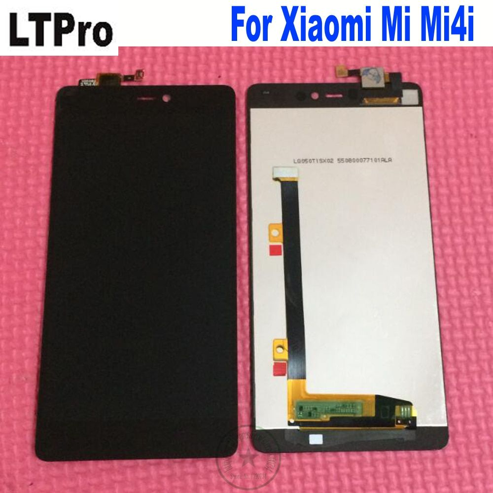 LTPro Black High Quality 100% Tested Working LCD Display Touch Screen Digitizer Assembly For Xiaomi Mi4i Mi 4i M4i Phone Parts