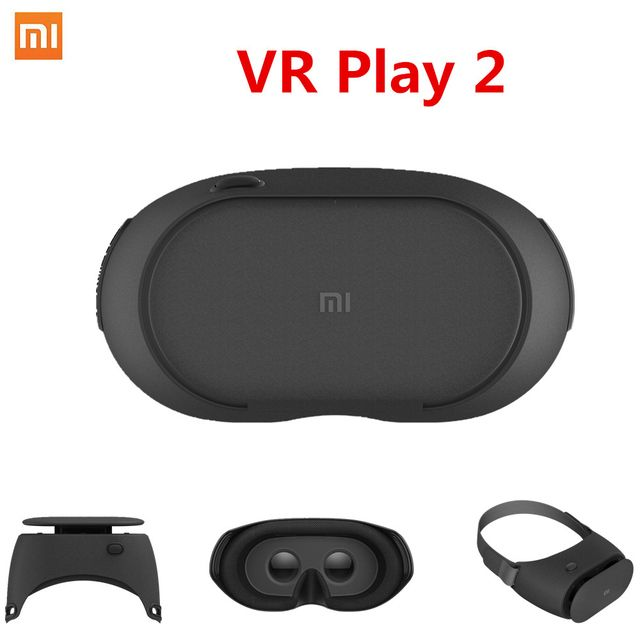 New Arrival Original Xiaomi Mi VR Play Virtual Reality Glasses 3D Headset Novelty Design For 4.7-5.7 inch SmartPhones VR BOX