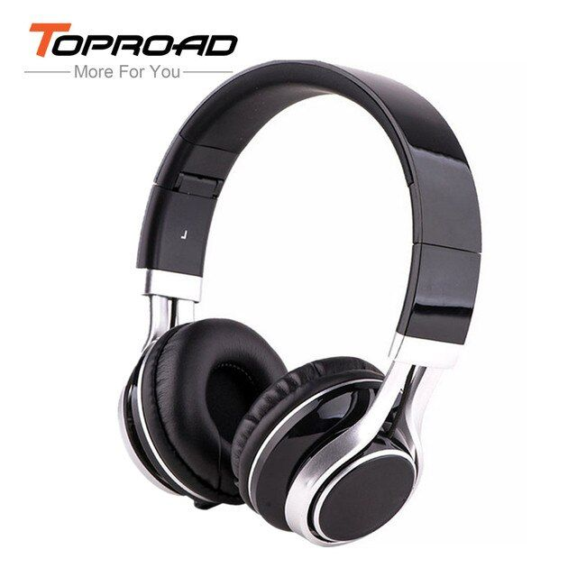 TOPROAD EP16 Adjustable 3.5mm Wired Headband Headphones fone de ouvido Folding Stereo Headset Pure Timbre Earphone for Phone PC