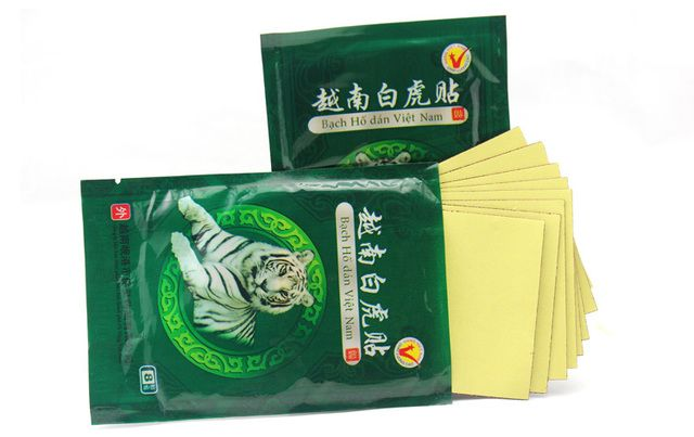8 Piece Vietnam White Tiger Balm Plaster better than zb pain relief orthopedie plaster Meridians paste massage oil essential
