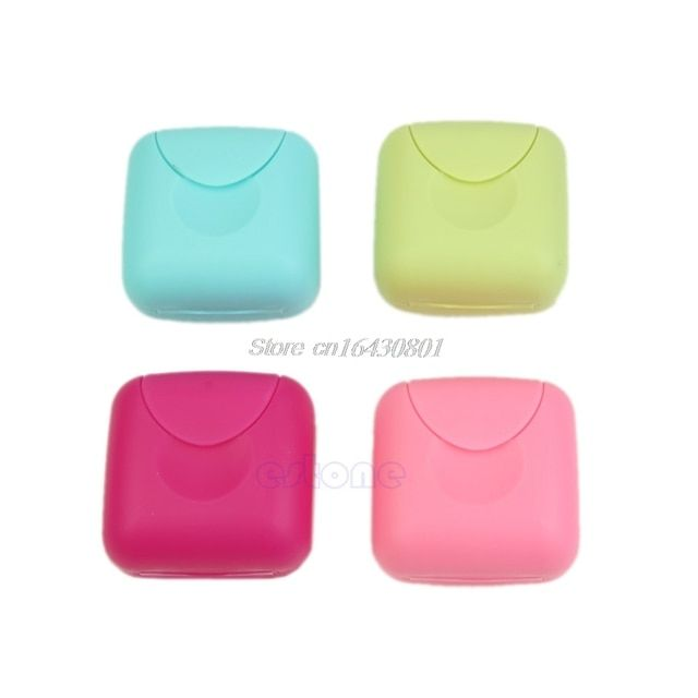 Mini Soap Dish Case Holder Container Box Travel Outdoor Hiking Camping Size S S08 Drop ship