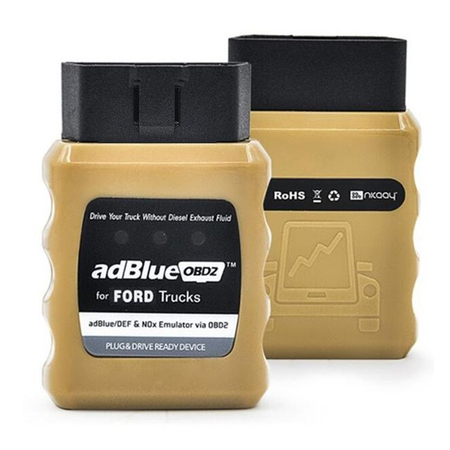 2018 Newest AdBlue OBD2 For R-ENAUL/ IVE/DA F/ MR N /F0R D /B-ENZ/ VOLV 0 Trucks Adblue Emulator AdblueOBD2 Free shipping
