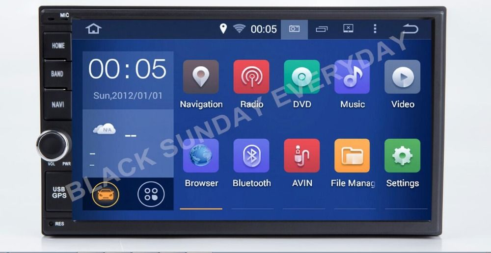 7 Inch Android 9.0 Universal Car DVD Player For Nissan OLD MODEL MICRA,MURANO,350Z,LIVINA,NAVARA,MP300,SENTRA, NV200 GPS RADIO
