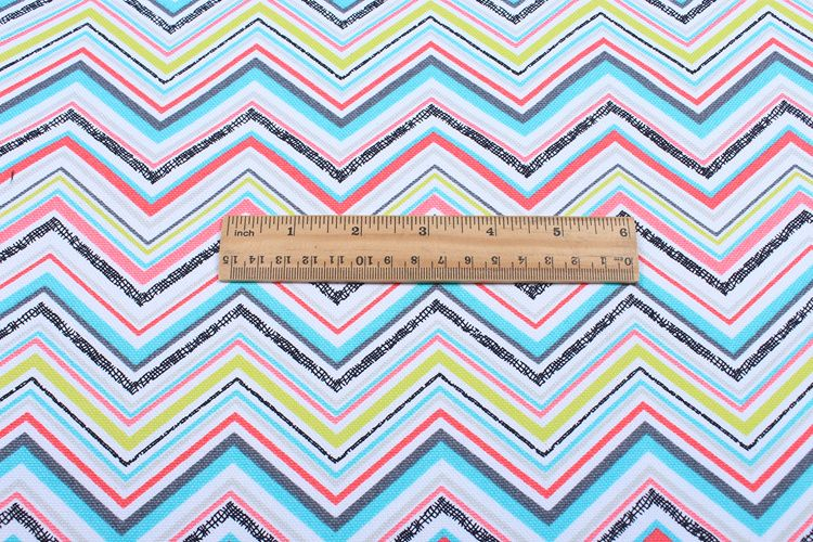 free ship 100% cotton canvas Chevron print fabric,145cm wide,sold by meter, for sofa/cushion/bags/table cloth/ pillow etc.