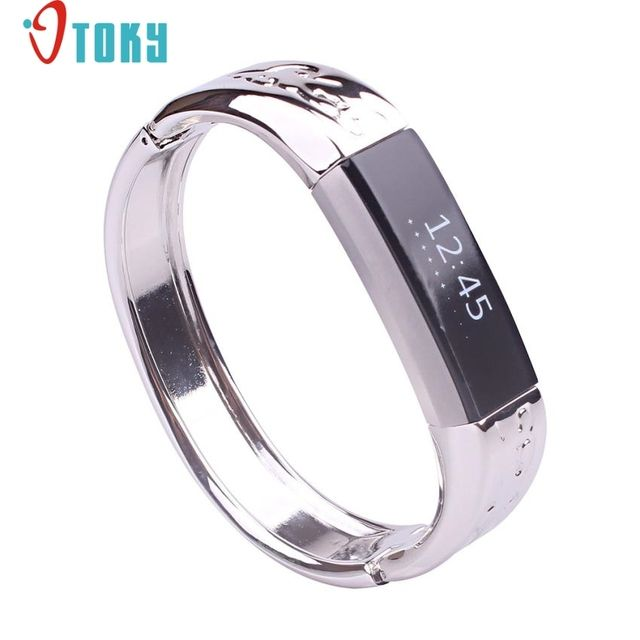 OTOKY Hot Unique Genuine Stainless MetalBand Strap Bracelet Bangle For Fitbit Alta Bracelet strap relogio watchband Dropship F45