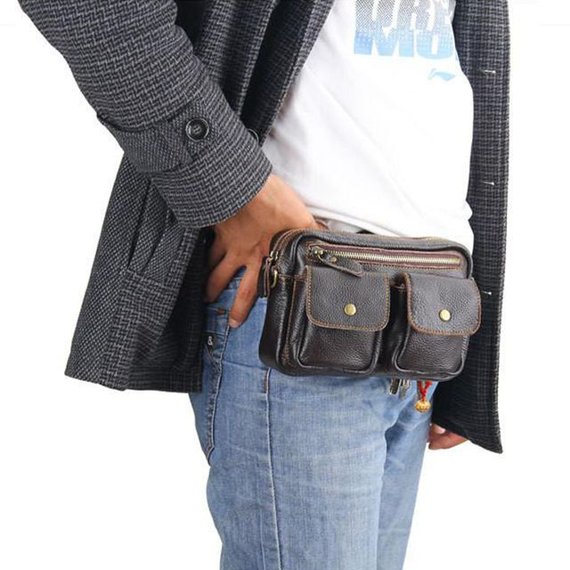 Meeboy Messenger Shoulder Messenger bag new horizontal version of the small multi-functional pocket