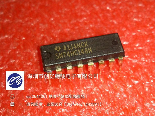 15pcs/lot new original  -74  chip SN74HC148N hc148 DIP -16