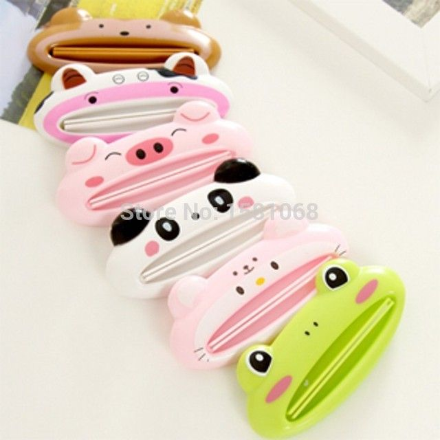 Free shipping 1pcs Cute Animal multifunction squeezer / toothpaste squeezer Home Commodity