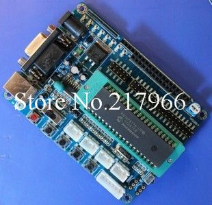 PIC16F877A Development Board PIC PIC experimental board minimum system circuit board to send the source code