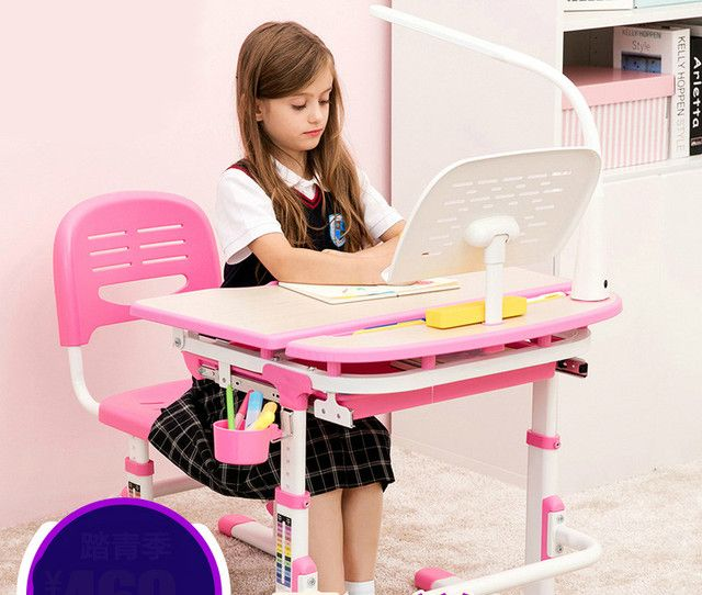 Children learn the lifting tables and chairs set desk and chair for preventing myopia pupils in children