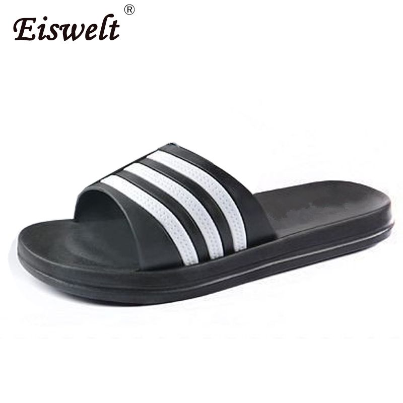 Men's Bathroom Slippers Flat Sandals Slip Slippers Indoor Slippers Word Home Couple#WYL149