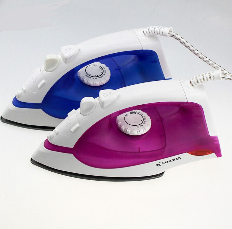 Electric Steam Iron For Clothes Mini Portable steam iron Handheld Flatiron travel steam iron 6 Gears Garment Steamer
