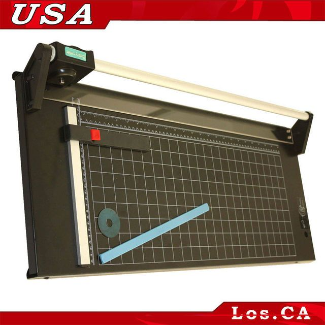 "NEW All Metal Frame Heavy Duty 24"" 620mm Manual Rotary Pro Paper Cutter Trimmer Cutting Machine"
