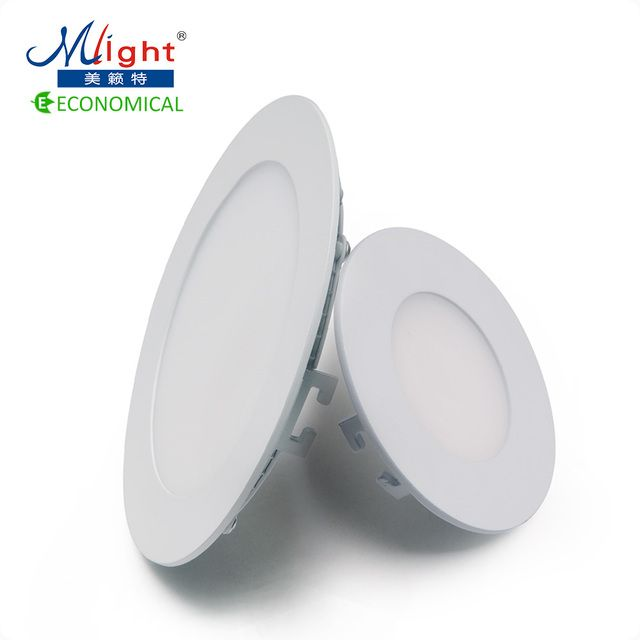 Led Panel Light AC85-265V 3W 6W 9W 12W 15W 18W 24W Round Square Ultra Thin Ceiling Light With Controller
