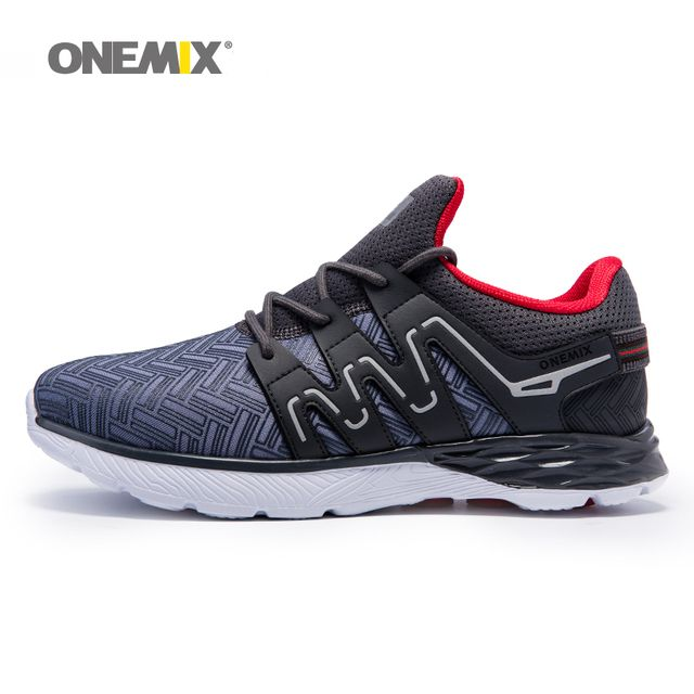 Onemix men running shoes breathable outdoor walking shoes male sport sneakers light jogging shoes for adult athletic sneakers