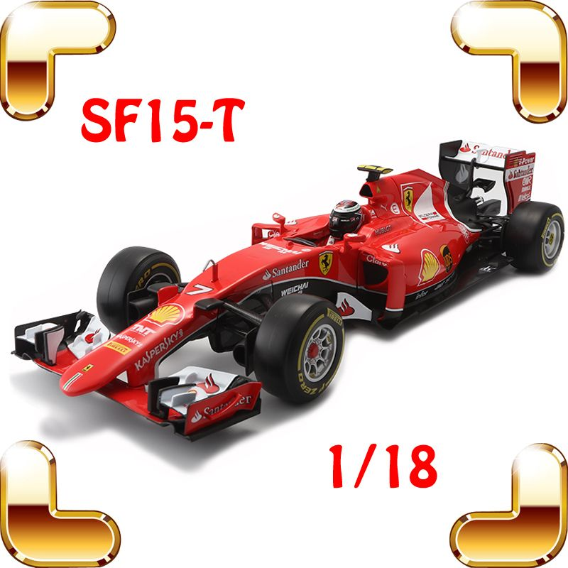 New Year Gift SF15-T 1/18 Metal Model Cars Formula Car Collection Toys House Decoration Alloy Huge Vehicle Present Big Racer Toy