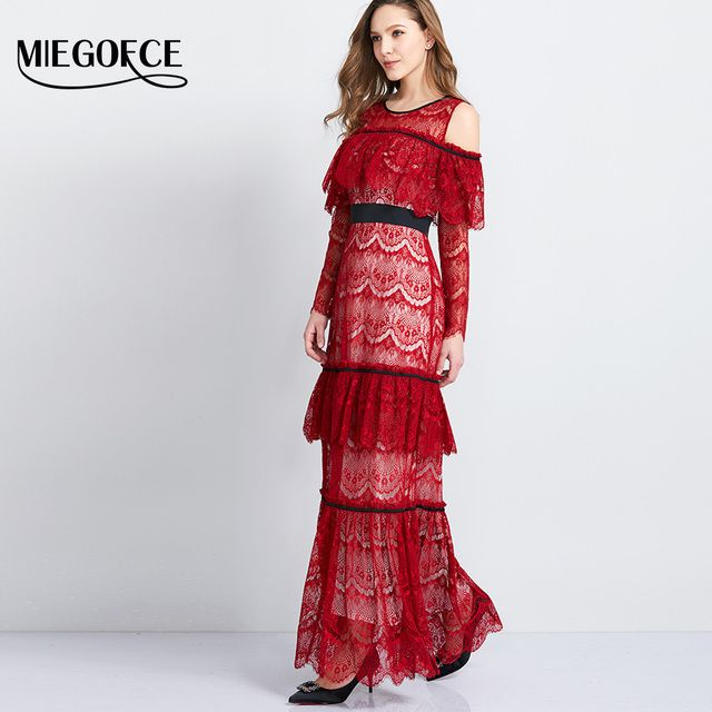 Women's Long Elegant Dress Round Neck Short Sleeves Printed For Office Casual Vintage Dress New Summer Collection From MIEGOFCE