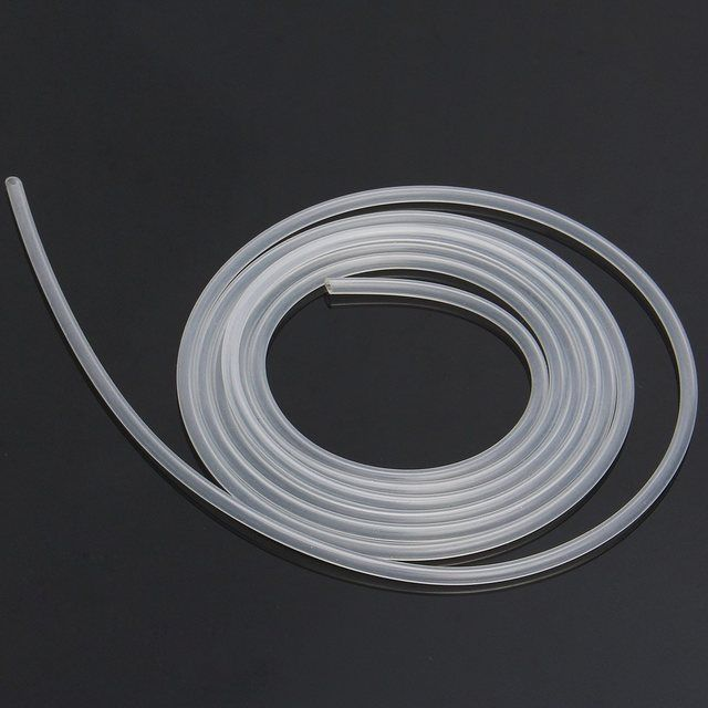 2m/lot 2mm*4mm High/low temperature resistance tasteless non-toxic clear Food Grade Silicone Hose Tube Pipe to transport liquid