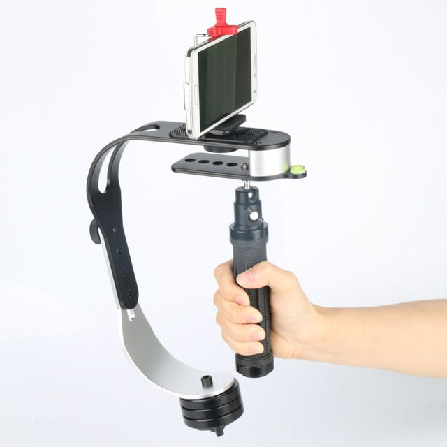 New Black PRO Handheld Video Stabilizer Steady cam for DSLR DV SLR Digital Camera Wholesale