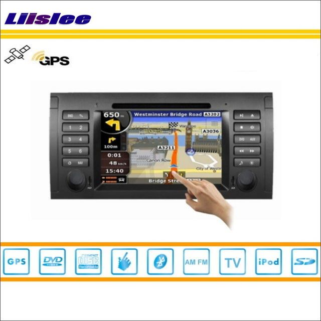 Liislee For BMW 7 E38 1994~2001 Car DVD Player GPS Navi Navigation Radio Stereo CD TV iPod BT HD Screen S160 Multimedia System