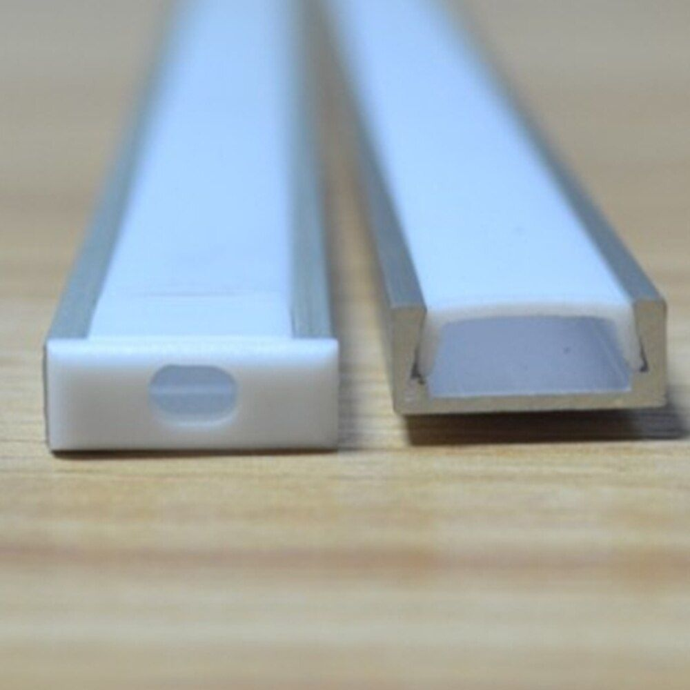 10M/Lot Floor profile LED Aluminium Extrusion for Floor, 1m/pcs LED Strip Aluminum Floor Profile