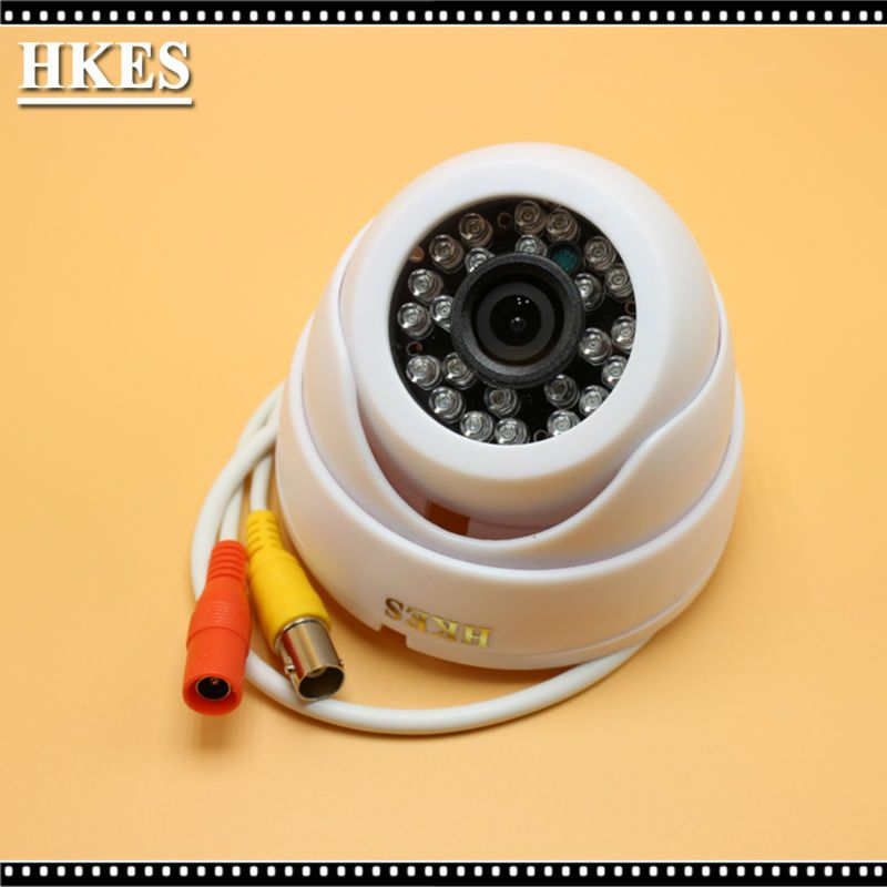 HKES 4pcs/lot  CCTV Security 1080 AHD Camera 1080P SONY IMX323 Video Surveillance Night Vision Cam