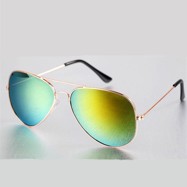 New Female Male Sunglasses Multi Men Sunglass Alloy Frame Sunglasses Women Brand Designer Women's Men's Goggles